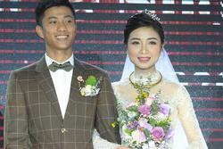 Vừa lấy chồng sáng nay, tối cùng ngày vợ Phan Văn Đức tiết lộ đang mang thai con đầu lòng