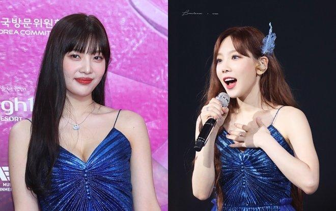 Fan xôn xao chuyện chị em mượn đồ: Joy (Red Velvet) diện váy tại Seoul Music Awards 2020 đụng hàng Taeyeon (SNSD)-1