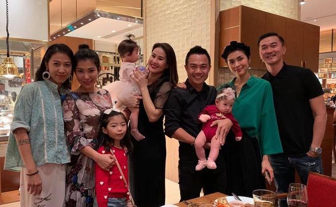 Tăng Thanh Hà dự sinh nhật con gái Thân Thúy Hà-1