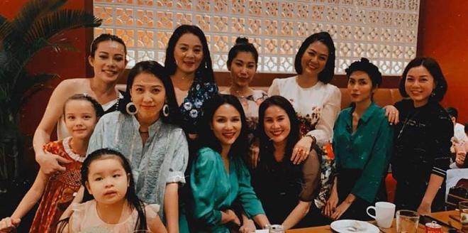 Tăng Thanh Hà dự sinh nhật con gái Thân Thúy Hà-2