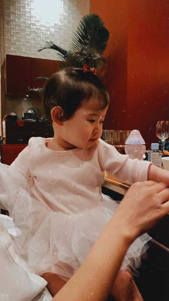 Tăng Thanh Hà dự sinh nhật con gái Thân Thúy Hà-7