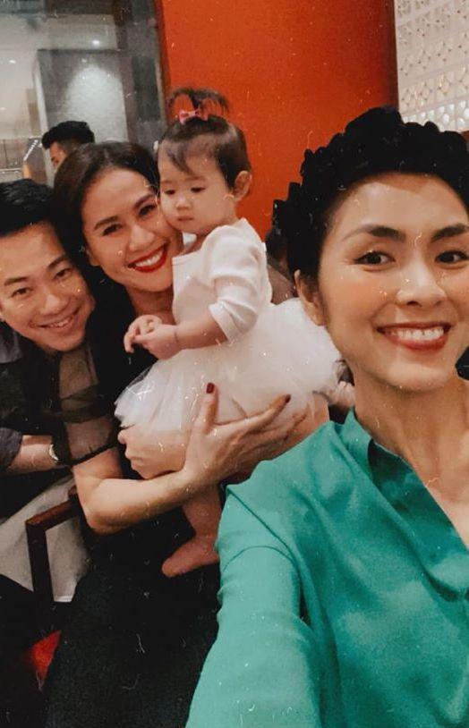 Tăng Thanh Hà dự sinh nhật con gái Thân Thúy Hà-8