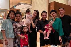 Tăng Thanh Hà dự sinh nhật con gái Thân Thúy Hà