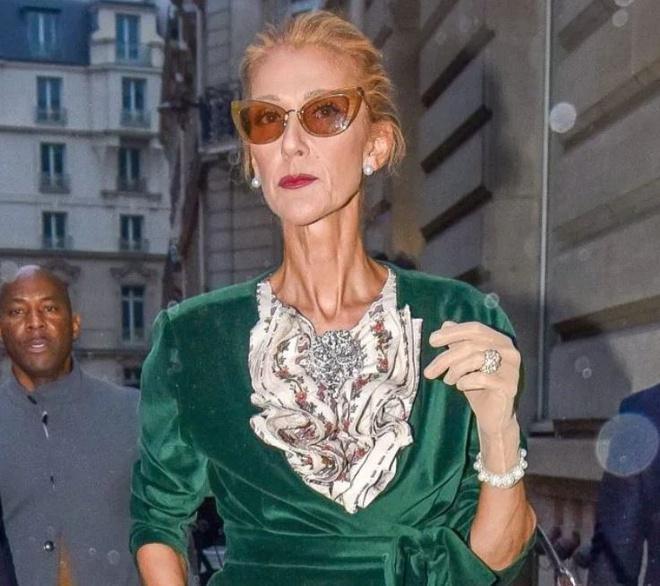 Celine Dion gầy gò đáng báo động-1