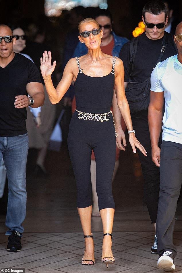 Celine Dion gầy gò đáng báo động-2