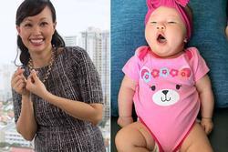 Khoe cận mặt con gái 2 tháng tuổi, 'Shark' Linh được khen ngợi chăm con siêu giỏi