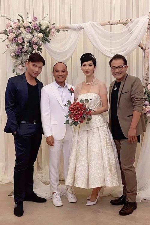 Việt Hương, Hồng Đào dự đám cưới Xuân Lan ở Mỹ-1