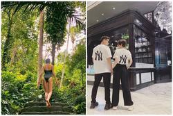 Fan liên tục réo tên Isaac sau khi Bảo Anh đăng ảnh gợi cảm trong chuyến du lịch Bali