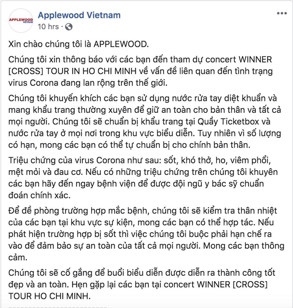 Giữa dịch corona, fan đến xem concert của WINNER được đo thân nhiệt và phát khẩu trang miễn phí-6