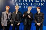 Giữa dịch corona, fan đến xem concert của WINNER được đo thân nhiệt và phát khẩu trang miễn phí