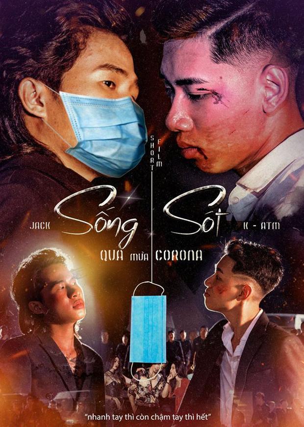 Designer cà khịa cả V-pop khi chế poster về đại dịch virus Corona-1