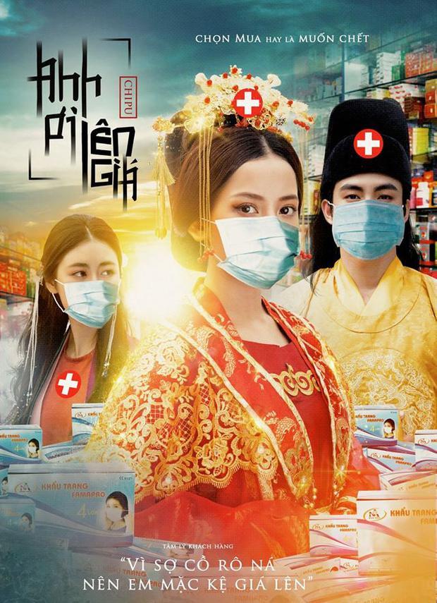 Designer cà khịa cả V-pop khi chế poster về đại dịch virus Corona-2