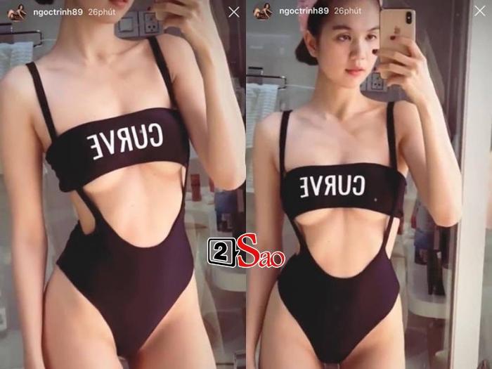 Minh Hằng đụng hàng bikini sexy nhưng có ăn đứt Ngọc Trinh và Lương Thùy Linh?-2