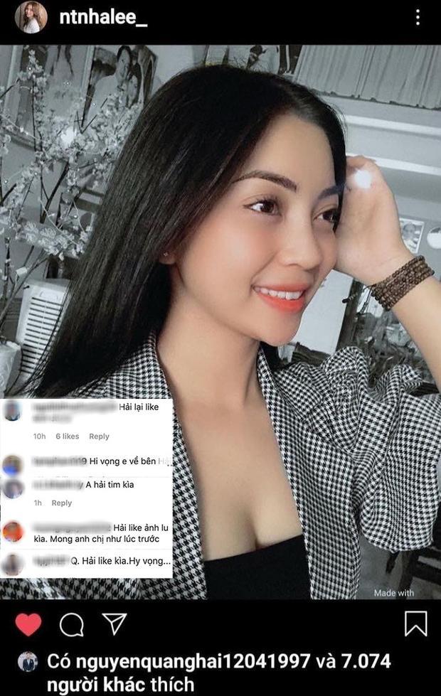 Fans vào trang cá nhân nhắc tới tình mới của Quang Hải, phản ứng của Nhật Lê cực cao tay-7