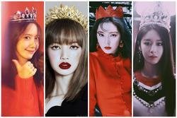 Ngắm nhan sắc dàn sao Hàn đội vương miện: Đỉnh nhất vẫn là Yoona, Lisa BlackPink
