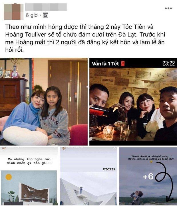 Tóc Tiên và Hoàng Touliver chuẩn bị kết hôn, lộ cả thời gian và địa điểm tổ chức?-2