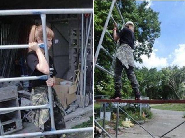 Nổi tiếng vì con gái mà làm xây dựng, sau 5 năm cô gái lột xác nóng bỏng kinh ngạc-1