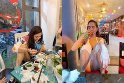 Đi ăn ở nhà hàng, Hồng Quế ngồi gác chân bá đạo không thua Ngọc Trinh