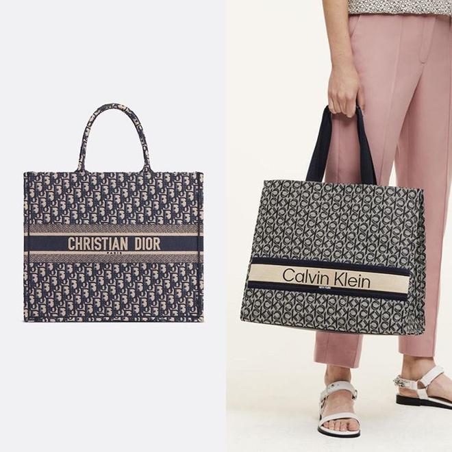 Calvin Klein bị tố đạo nhái thiết kế túi nổi tiếng của Dior-1