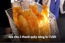 Tiệm quẩy nóng cỡ lớn ở Đài Loan