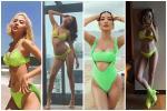 Khoảnh khắc diện bikini hiếm gặp của diễn viên Hồng Diễm-3