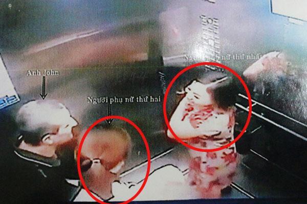 Hé lộ clip ghi lại cảnh 2 người phụ nữ nghi ăn trộm 600 triệu của người đàn ông nước ngoài ở chung cư Sài Gòn-1