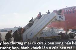 Lý do hành khách phải lên máy bay từ cửa bên trái