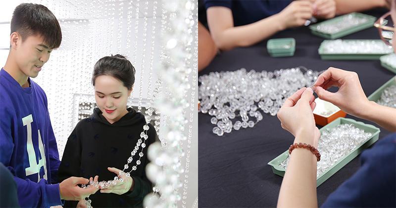 Đám cưới của Duy Mạnh - Quỳnh Anh: 500.000 viên pha lê cao cấp, riêng tiền hoa đã 200 triệu-1