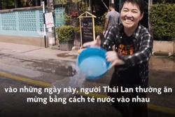 Cuộc chiến té nước mừng năm mới lớn nhất thế giới ở Thái Lan