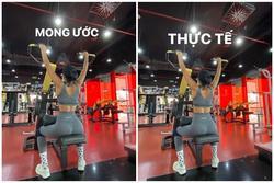 Vừa đeo khẩu trang vừa tập gym, H'Hen Niê khiến fan cười bò vì cách lấy động lực giảm cân mùa dịch