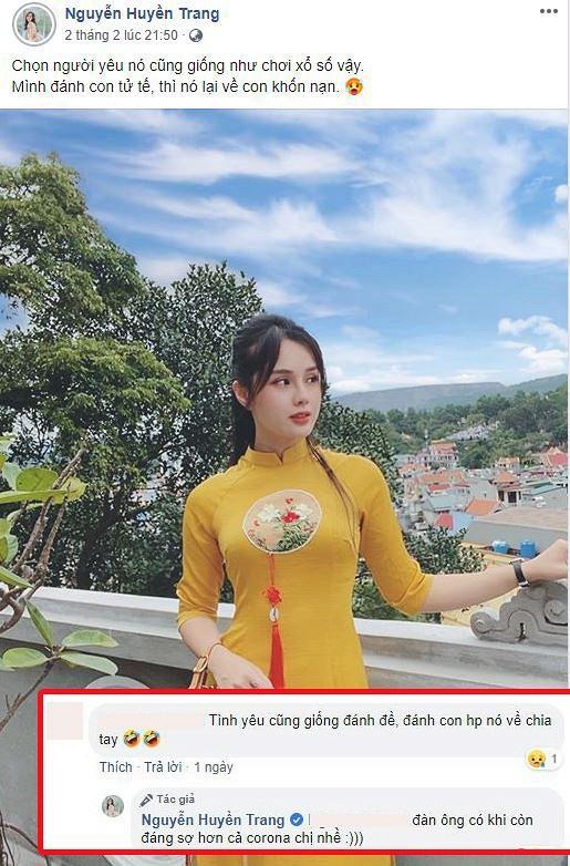 Giữa nghi vấn chia tay cầu thủ Trọng Đại, Huyền Trang xác nhận đang độc thân-5