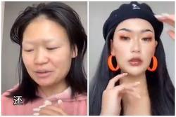 VI DIỆU: Mặt mộc trông như gái đang bầu, make-up chút xíu lại hóa fashionista