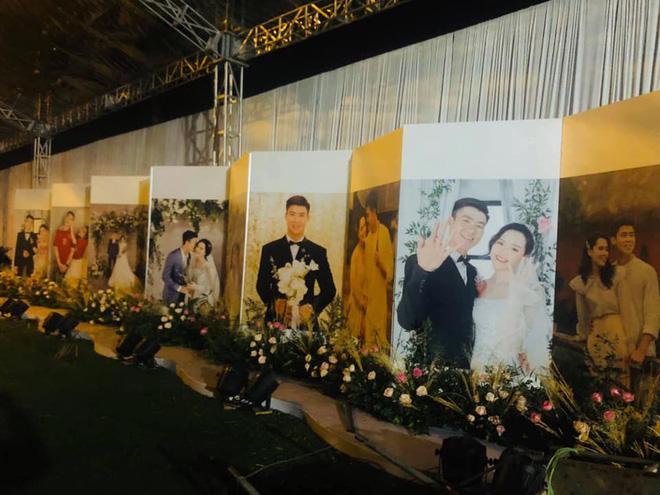 Chị gái Đỗ Duy Mạnh khoe ảnh rạp cưới ở nhà trai, mới được 80% mà lộng lẫy như cung điện rồi-6