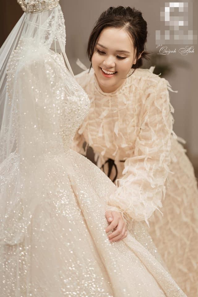 Chị gái Đỗ Duy Mạnh khoe ảnh rạp cưới ở nhà trai, mới được 80% mà lộng lẫy như cung điện rồi-1
