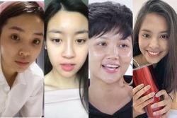 4 hoa hậu Việt chăm khoe mặt mộc bất chấp khen chê