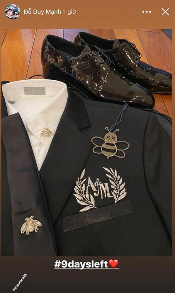 Bóc giá trang phục cưới toàn đồ hiệu của Duy Mạnh - Quỳnh Anh-8