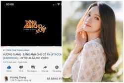 Hương Giang trở thành nữ ca sĩ hot nhất Youtube Việt Nam nhờ 'vũ trụ Tuesday'