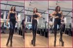 Hoa hậu Hoàn vũ Khánh Vân khiến fan ngỡ ngàng vì 'hack chiều cao' lên tận hơn 2m