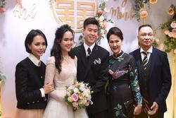 Quỳnh Anh đeo vòng cổ 285 viên kim cương, diện váy cưới như công chúa