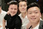 Đi đám cưới Duy Mạnh, bộ 3 hot boy sân cỏ làm hội fans girl đổ gục vì ai cũng 'đòi lấy vợ'