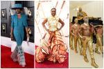 Oscar 2020: 'Ông hoàng thảm đỏ' Billy Porter mặc váy, diện áo dát vàng lập tức chiếm spotlight