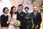 CLIP GIỜ MỚI HÉ LỘ: Cô dâu của Duy Mạnh suýt ngã sấp mặt vì chiếc váy cưới đắt đỏ-3