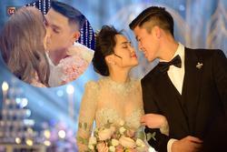 Phù dâu, phù rể trong đám cưới Đỗ Duy Mạnh làm ai cũng bất ngờ khi công khai 'hôn bất chấp'
