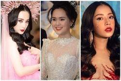 Chi Pu - Angela Phương Trinh mới là mỹ nhân đi đầu xu hướng mắt gắn đá trước cô dâu Quỳnh Anh