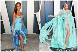 Dàn mỹ nhân lộ ngực phản cảm, mặc quần đùi tại bữa tiệc hậu Oscar