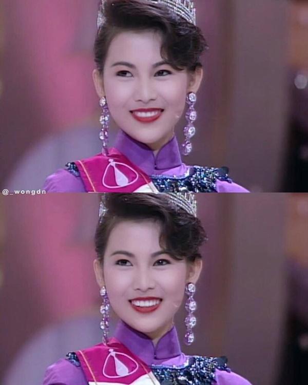 Á hậu Hong Kong Thái Thiếu Phân bị đào mộ ảnh 20 năm trước: Cực phẩm nhan sắc TVB-8