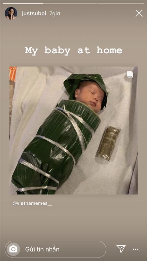 Suboi công khai gương mặt con gái đầu lòng sau 1 tháng hạ sinh-1