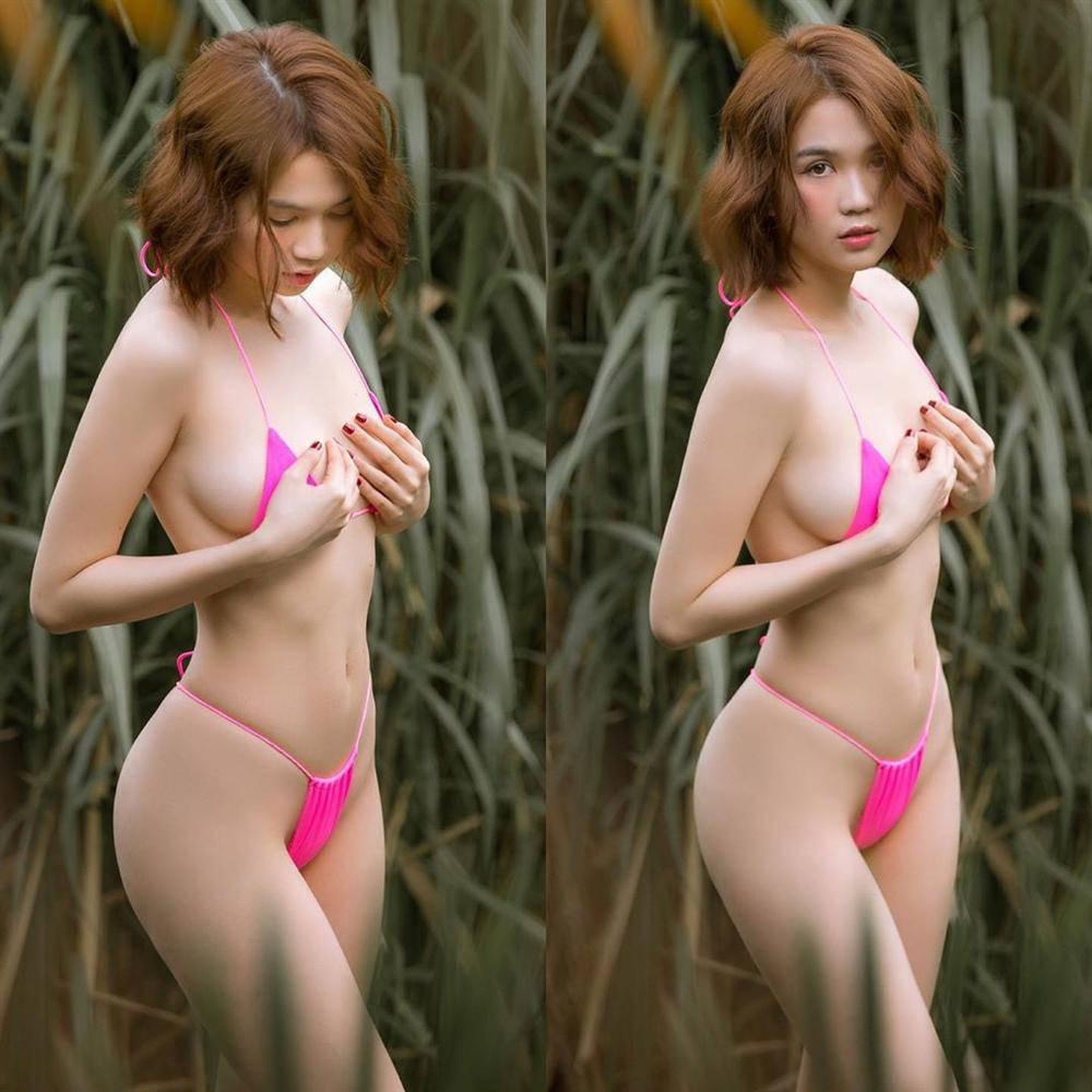 Ngọc Trinh nghiện bikini không che nổi ngực nhưng khi ở biệt thự triệu đô lại mặc kín bưng-4