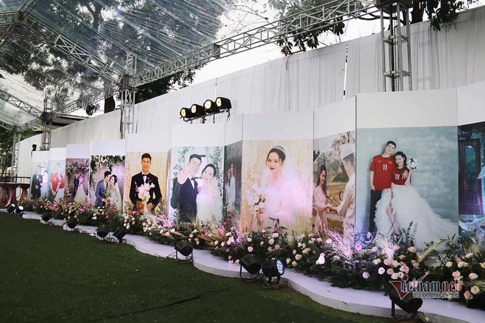 Toàn cảnh tiệc cưới siêu to khổng lồ đẹp như MV nhạc của Duy Mạnh - Quỳnh Anh-3