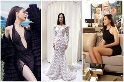 Mai Phương Thúy lộ thân hình đô con - Trang phục dạ hội 'demo' của Hoài Sa bị chê quê mùa